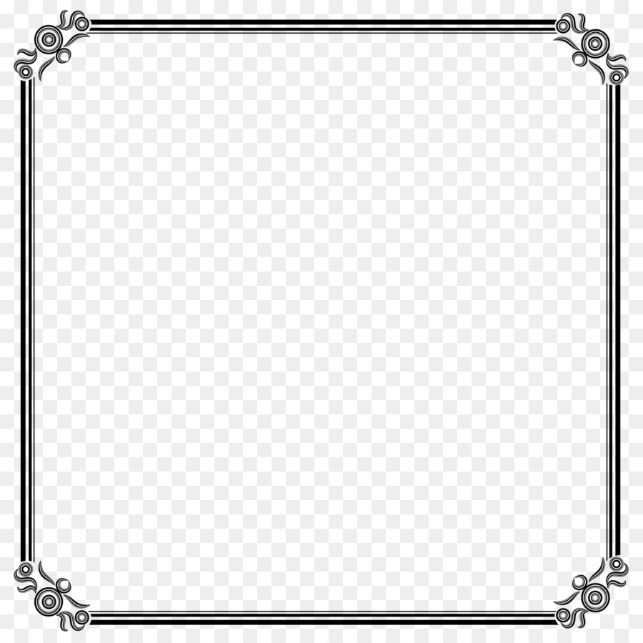 Borders and Frames Clip art - square frame png download - 1280*1280 ...