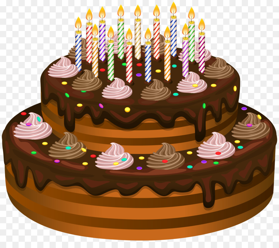 Birthday Cake Chocolate Cake Torte Cake Png Download 80006944