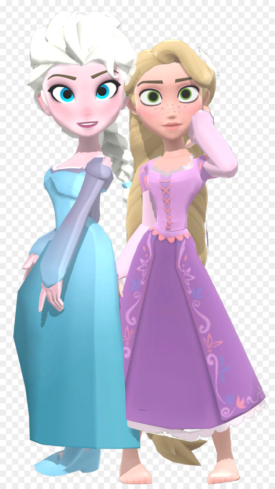 Tangled Frozen combined and