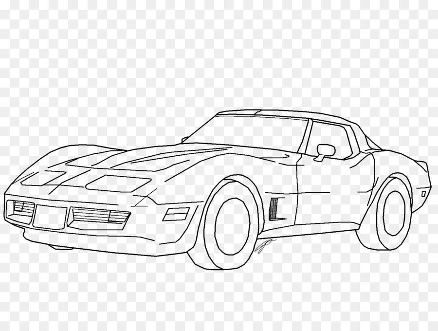 Porque Corvette Stingray Chevrolet Corvette ZR1 (C6) de la Línea de ...