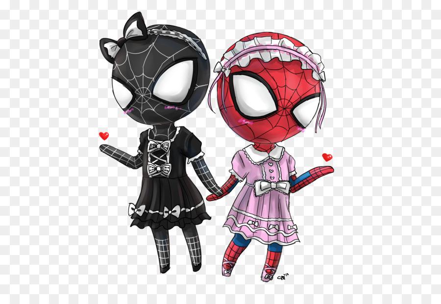 girl venom Spider