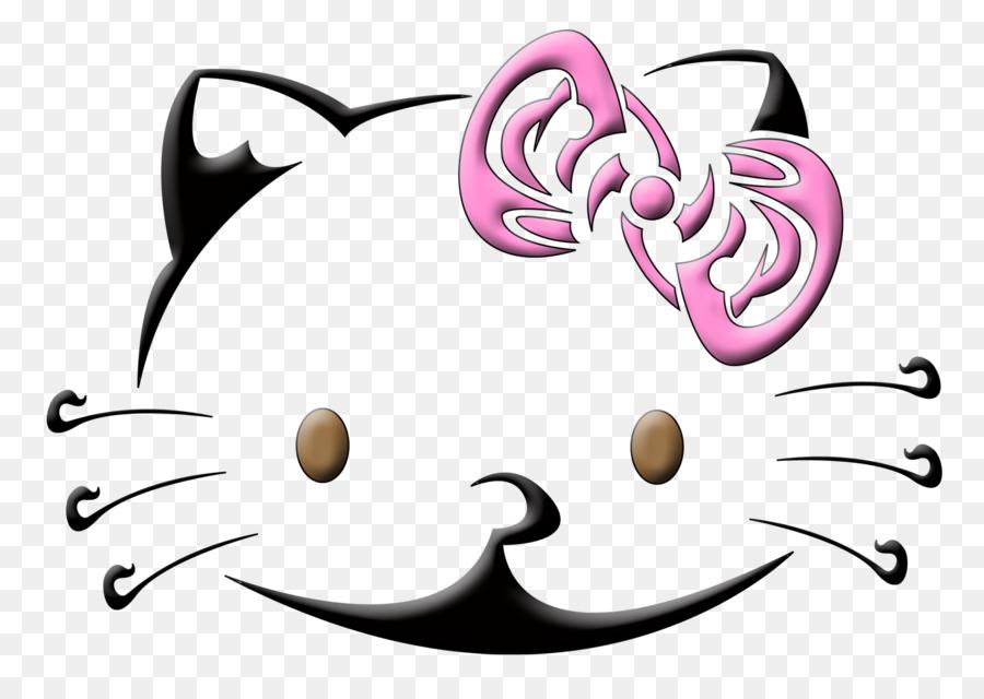 Hello Kitty La Plantilla Del Tatuaje Del Arte - hola Formatos De ...