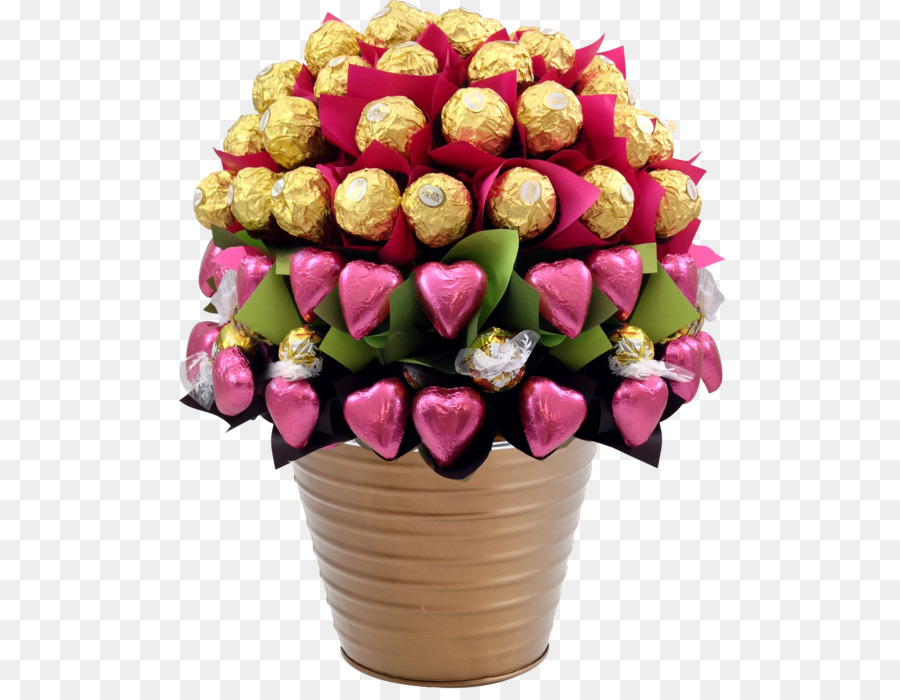 Ferrero Rocher Flower bouquet Chocolate bloom - mother\'s day png ...