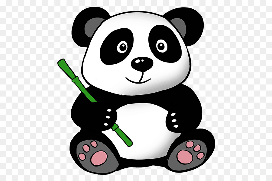 giant panda bear drawing clip art panda png download cute animals clip art cute animal clipart images
