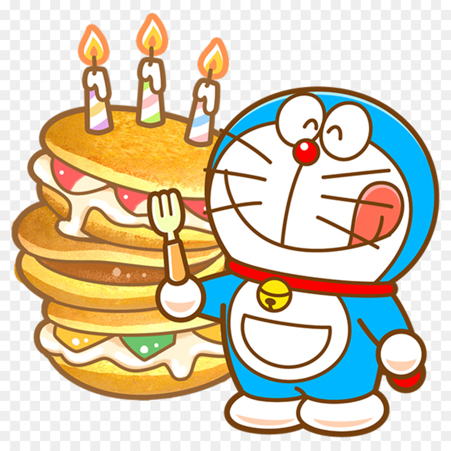 Happy Birthday Doraemon Cake