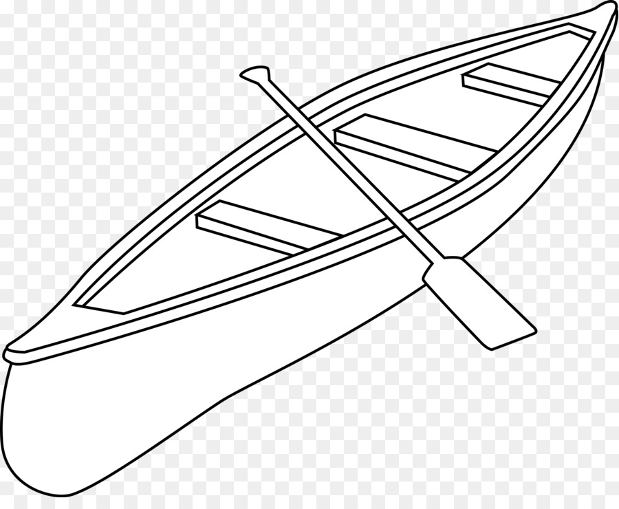 Canoe Camping Drawing Kayak Clip Art