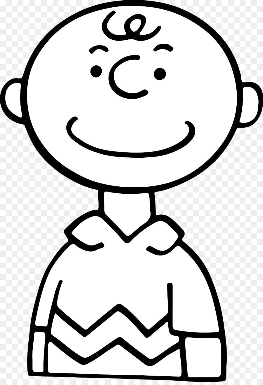 Dibujo de Charlie Brown Línea de arte Snoopy - charlie brown png ...