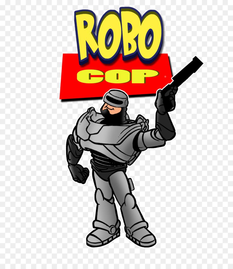 Fiksi Komik Kartun Clip Art Robocop Unduh Superhero Komik