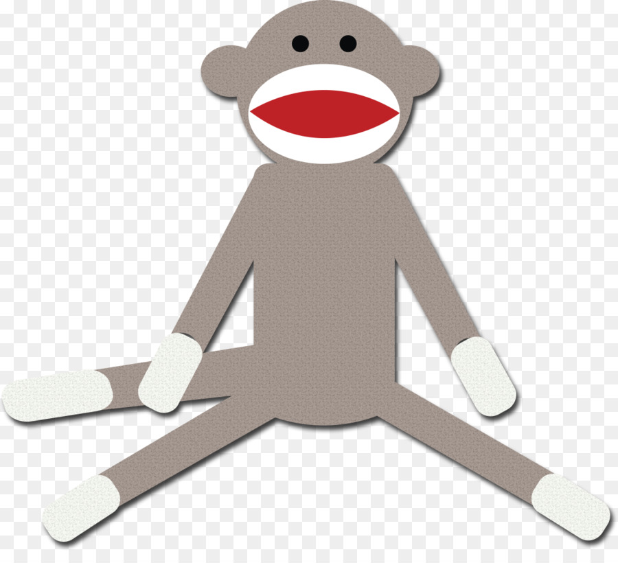 sock monkey drawing clip art socks png download 1105 986 free rh kisspng com Sock Monkey Clip Art Black and White sock monkey clip art free