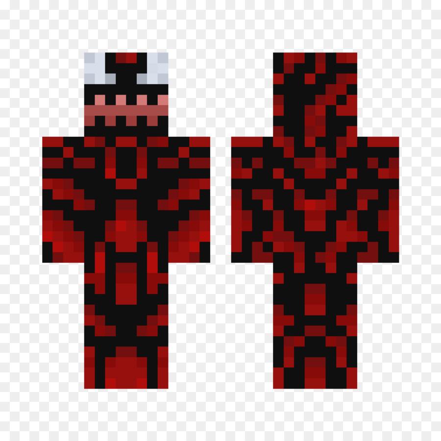 Minecraft Skin YouTuber Ifwe Carnage Png Download - Skin de youtuber para minecraft
