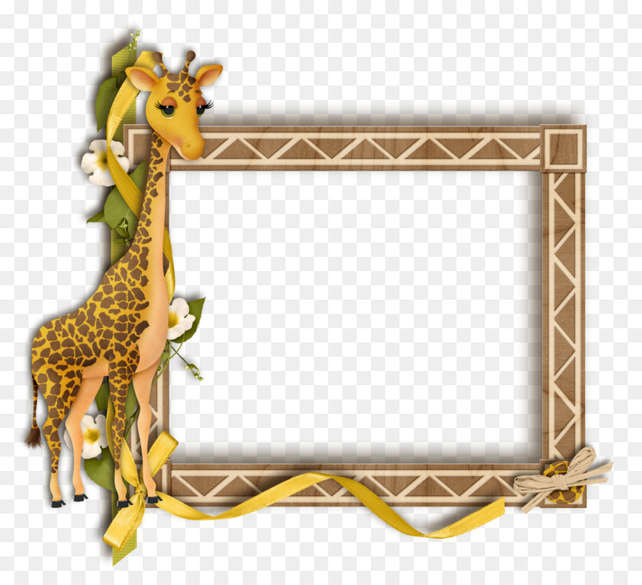 Giraffe Photography Picture Frames - gif png download - 2169*1974 ...