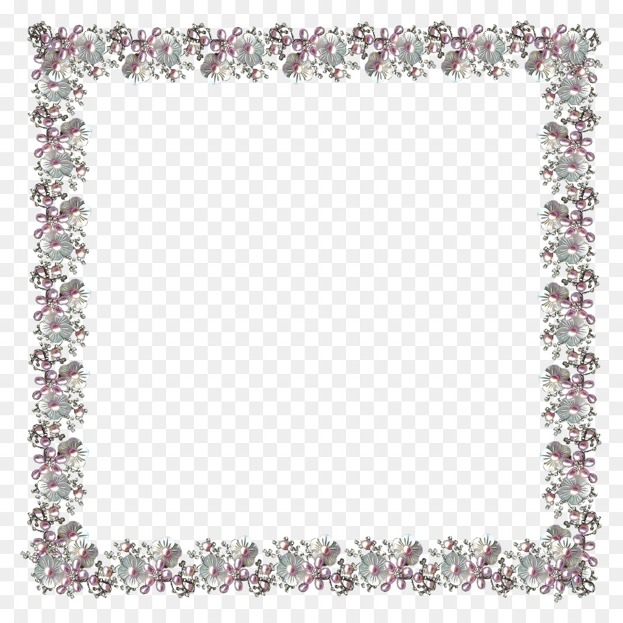 Picture Frames Pearl - Lace Boarder png download - 1200*1200 - Free ...