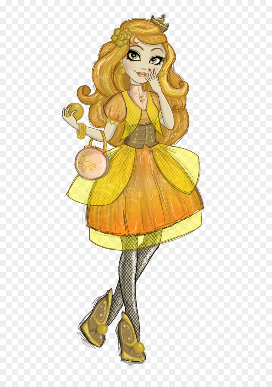 Ever After High Betty Boop Character Daughter Art - sand monster png ...