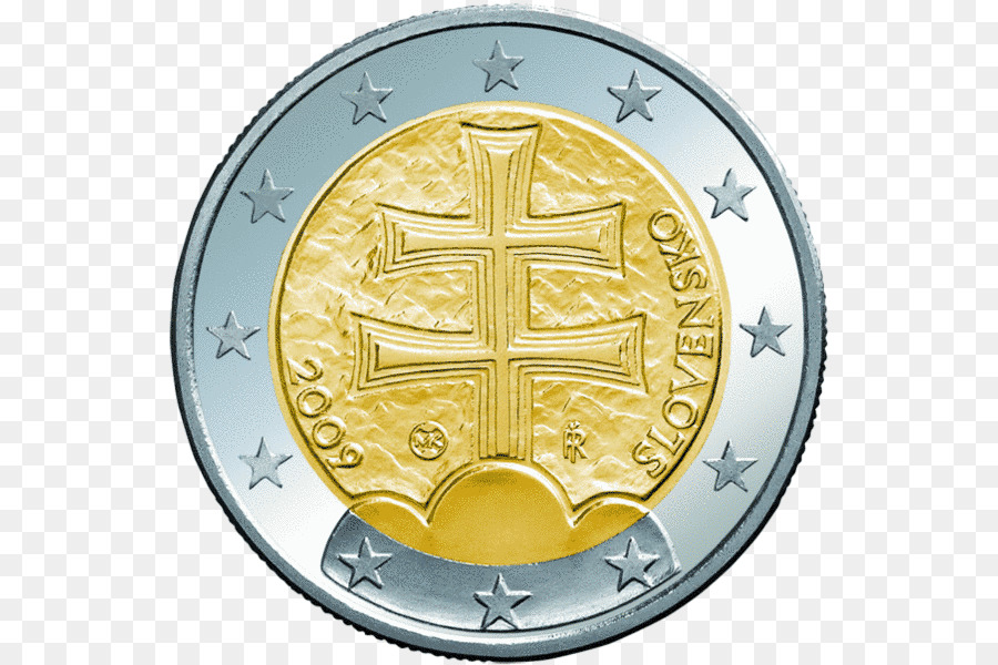 Slovak Euro Coins Currency Exchange Rate