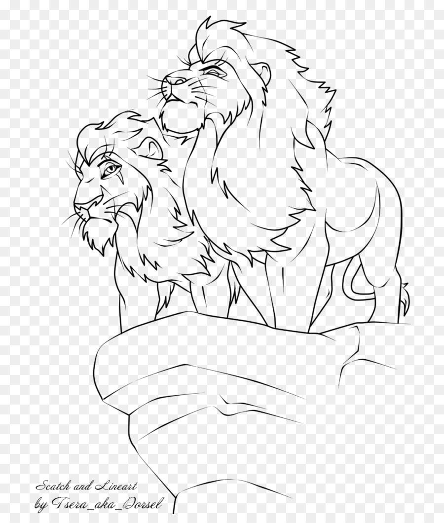 El León El León de Odio para Asustar A la Muf - león de dibujo png ...