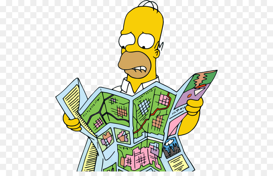 Homer Simpson Map The Simpsons Hit Run The Simpsons Tapped Out - How to map out a run