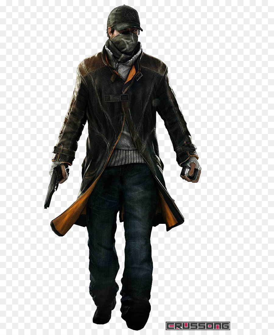 Watch Dogs 2 Coat Aiden Pearce Clothing Flippers Png Download