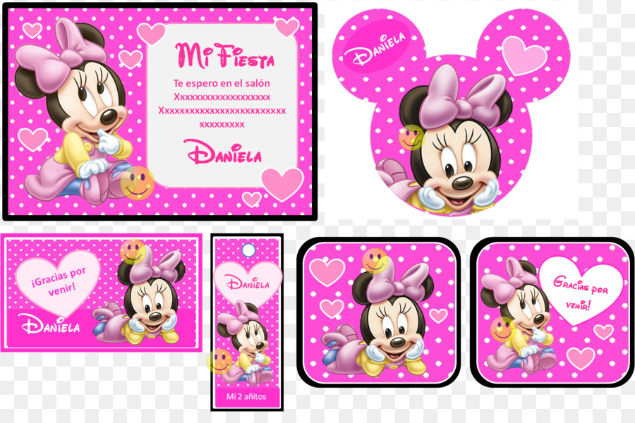 Minnie Mouse Mickey Birthday Desktop Wallpaper