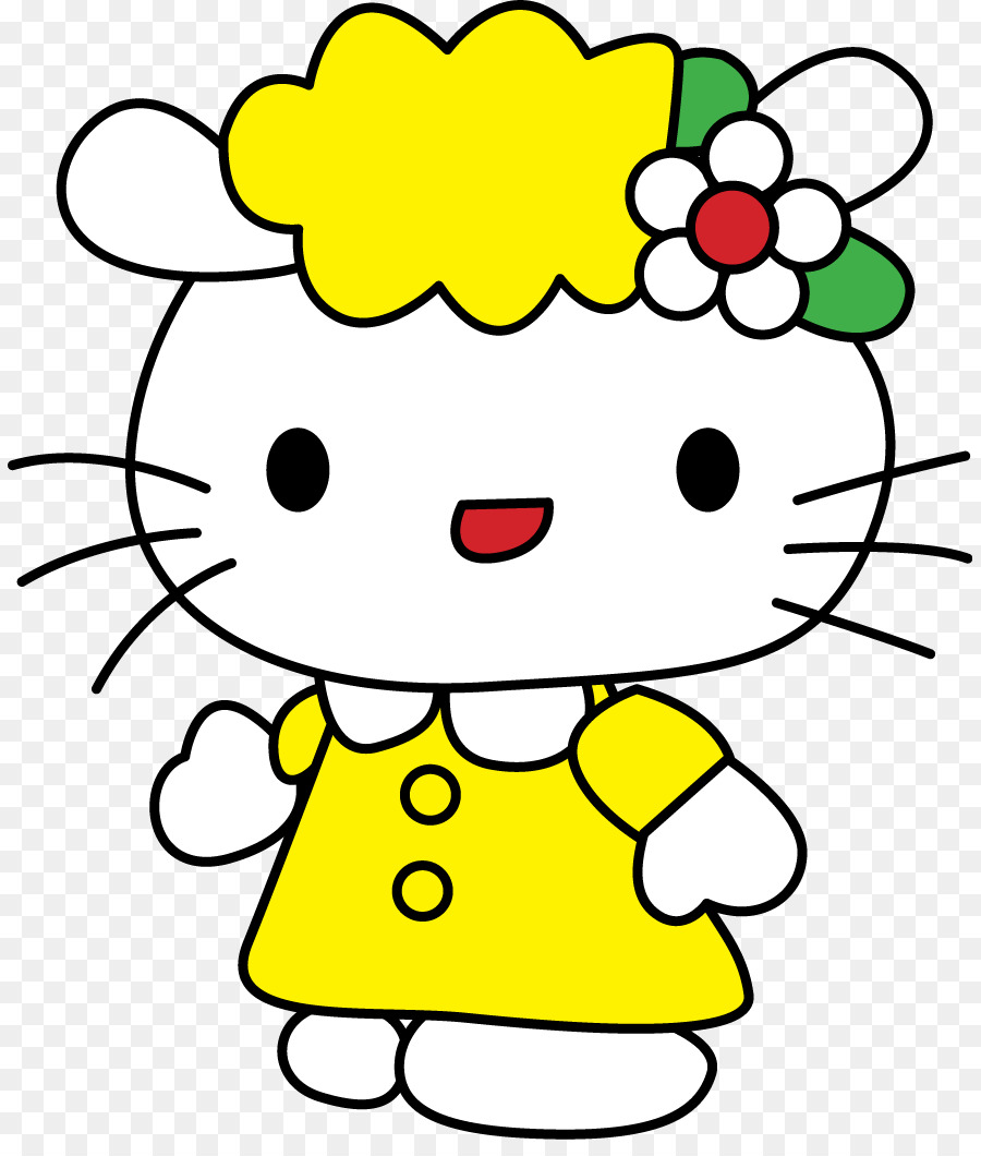 hello kitty online drawing cartoon hello png download 885 1045