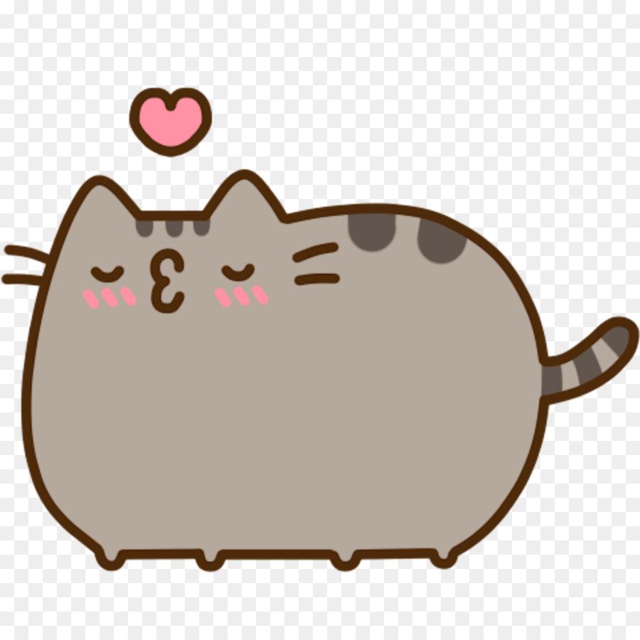 Pusheen Cat Clip Art Cute Png Download 12001200 Free
