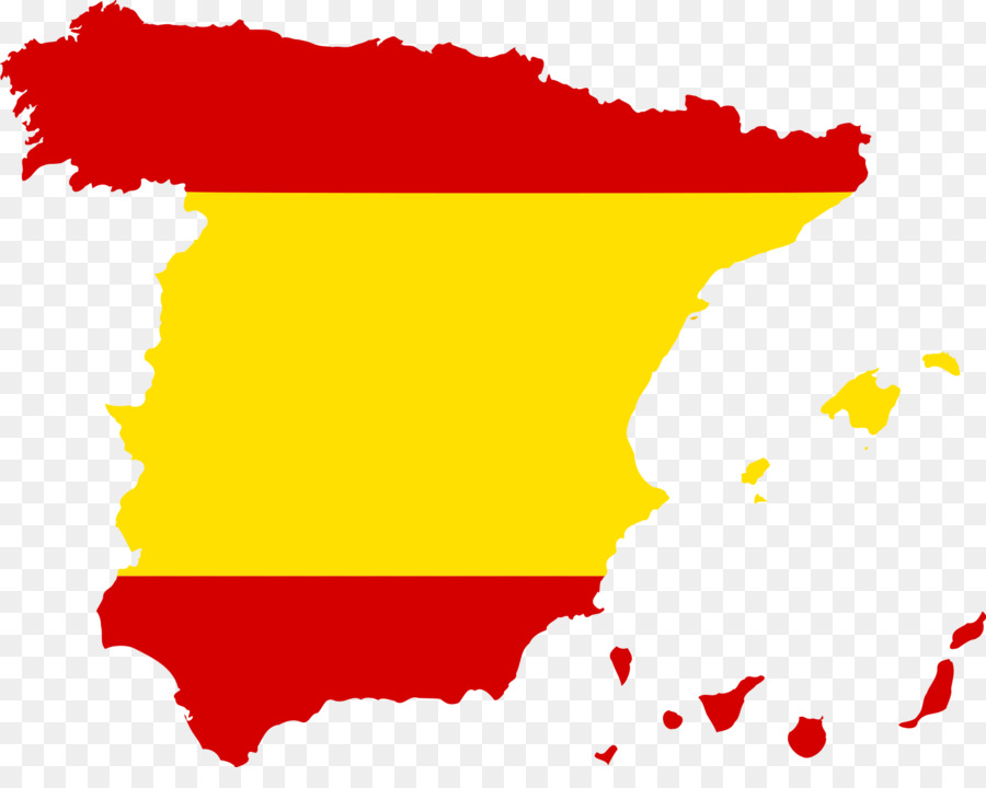 Flag of Spain Second Spanish Republic Map   spanish png download