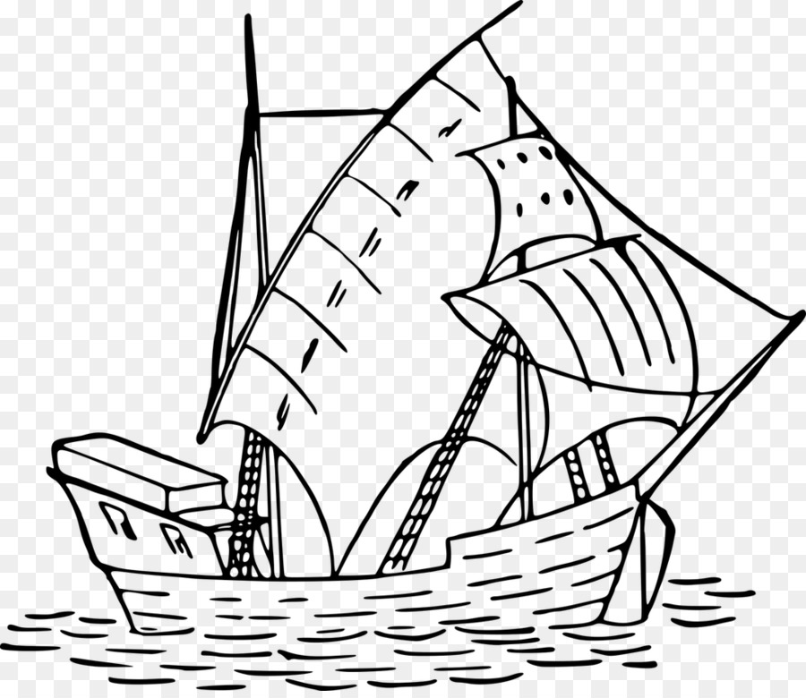 Sailboat Sheet Drawing Ship - sailboat png download - 988*847 - Free ...