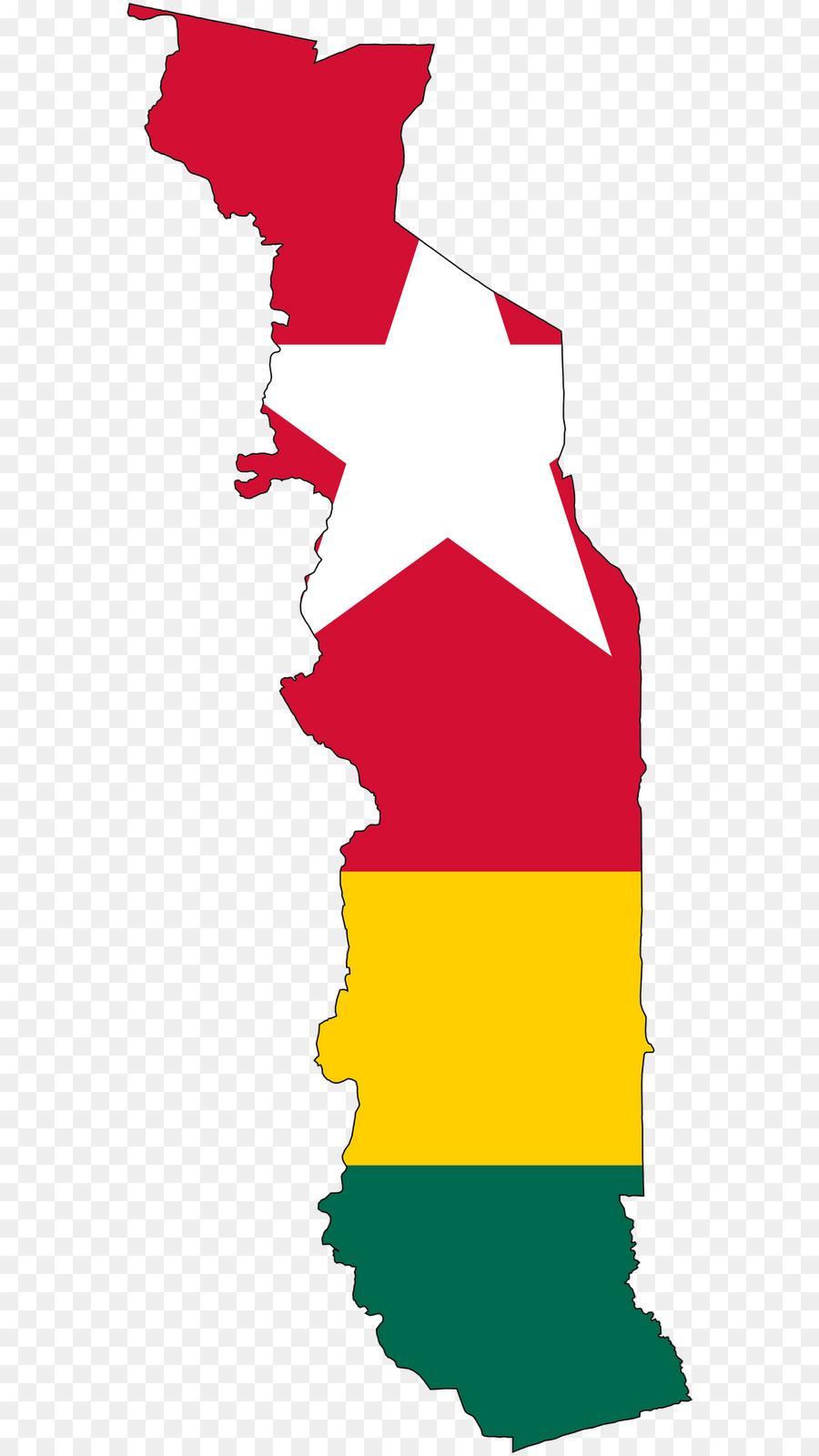 Flag of Togo Map - eva longoria png download - 625*1600 - Free ... Togo Map on