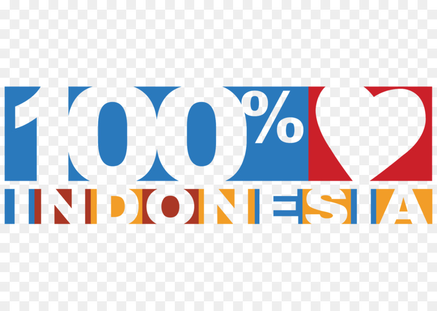 100 Cinta Indonesia Logo Indonesian 100 Png Download 16001136