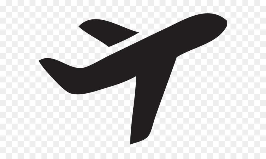 Airplane Silhouette png download - 2206*1315 - Free Transparent
