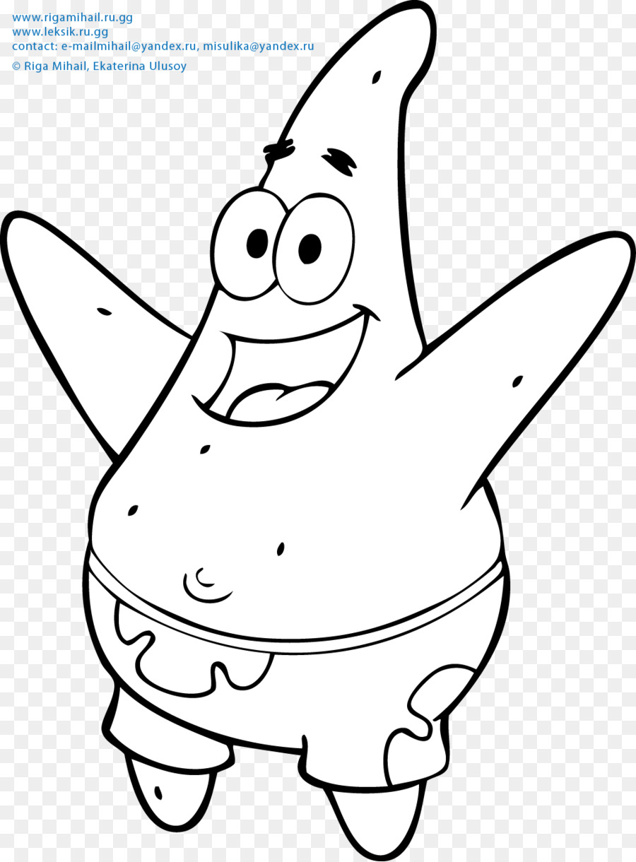 Patrick Star Coloring Book Child Animation Others