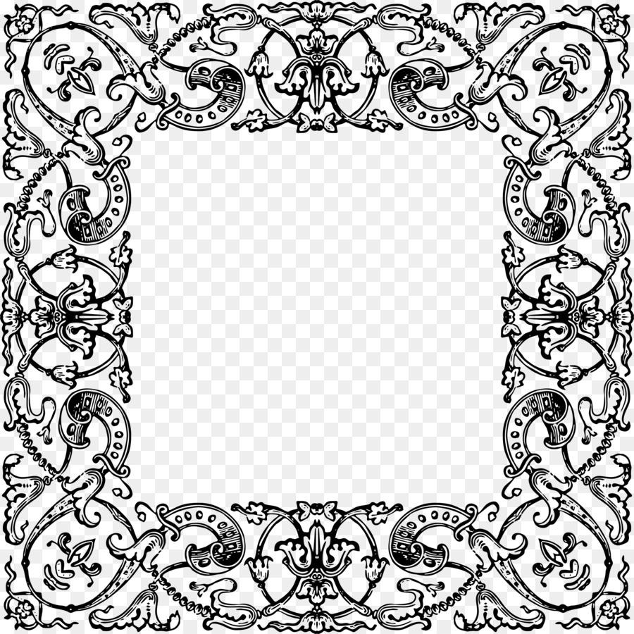 Marcos Adorno de artes Decorativas - ornamento marco Formatos De ...