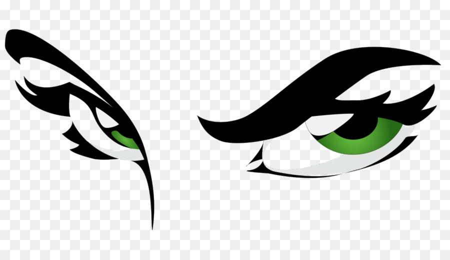 Eyes human eye. Green leaf logo png