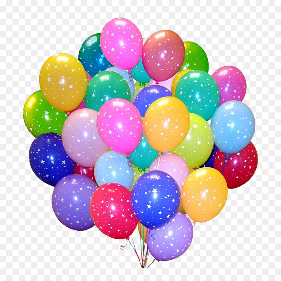 Toy Balloon Holiday Wedding Birthday Balloons Png Download 1100