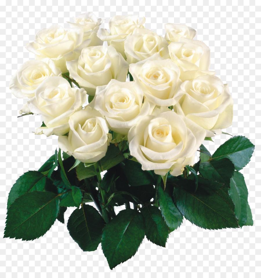 Desktop Wallpaper Flower Bouquet Rose White Rose Png Download