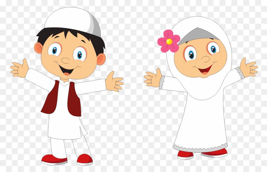 Kumpulan Gambar Animasi Anak Tk Muslim Kumpulan Kartun