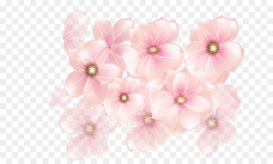 Pink Flowers Desktop Wallpaper Clip Art