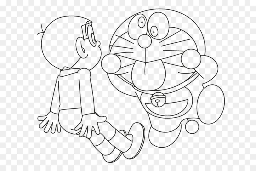 Nobita Nobi Doraemon 4 To Tsuki No Oukoku Coloring Book Drawing