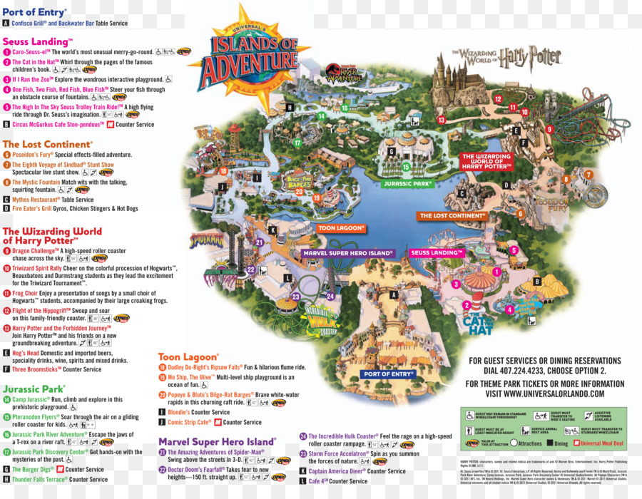 Universal\'s Islands of Adventure The Wizarding World of Harry Potter ...