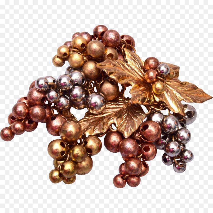 Grapevines Jewellery Brooch Vintage