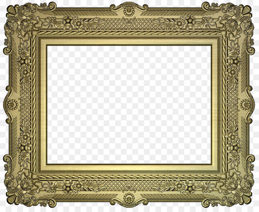 Picture Frames STL 3D computer graphics - baroque png download ...