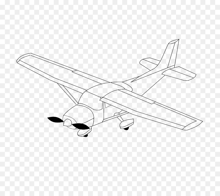 Airplane Drawing Line Art Clip