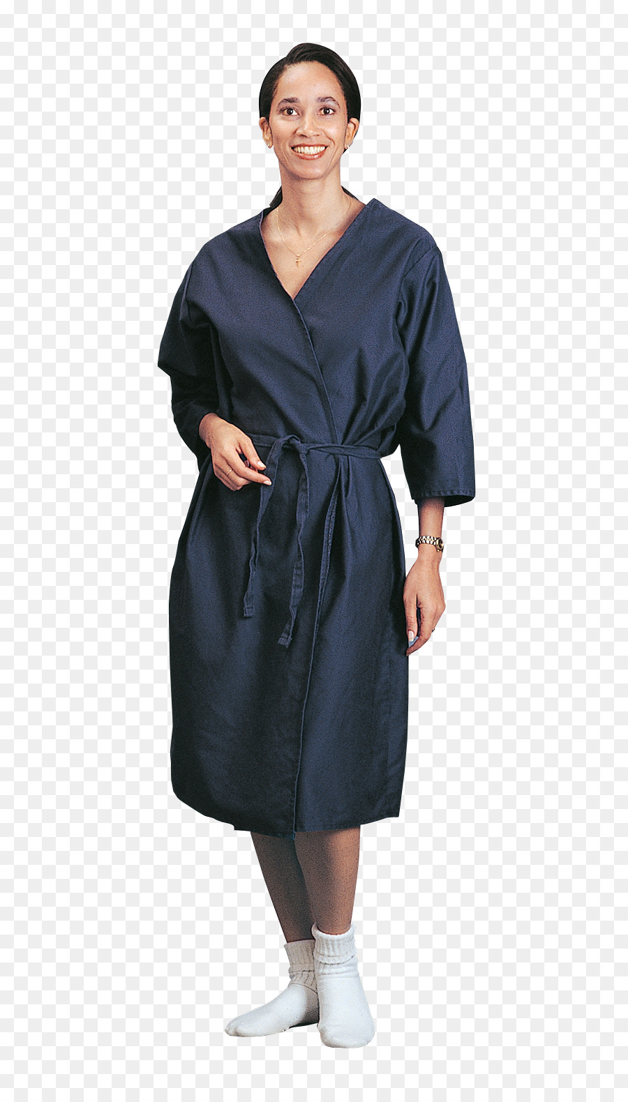 Robe Dress Clothing Hospital Gowns - gown png download - 745*1565 ...