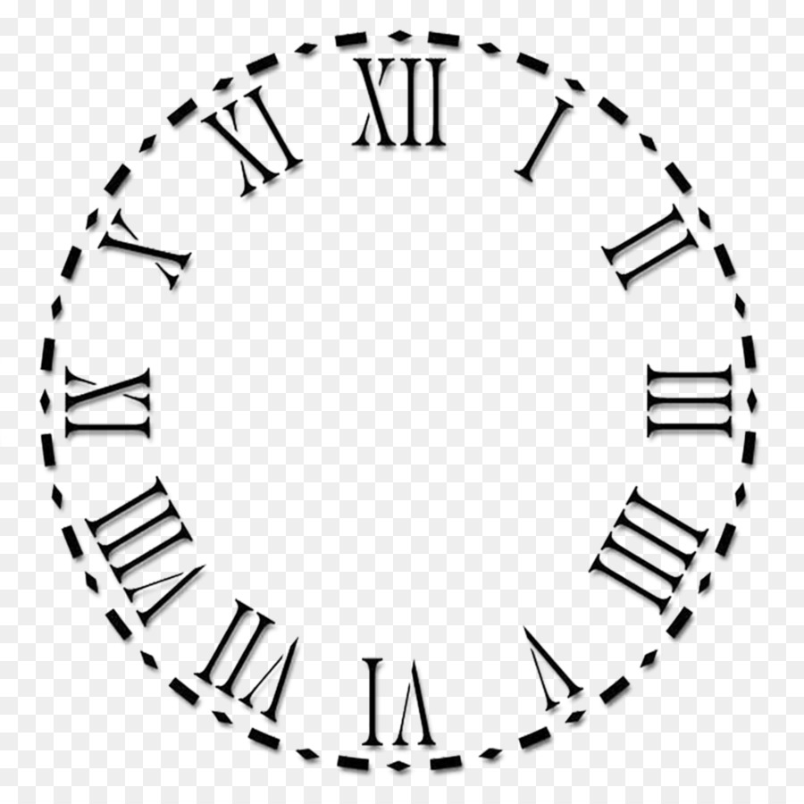 clock face roman numerals numeral system clock png download 1024