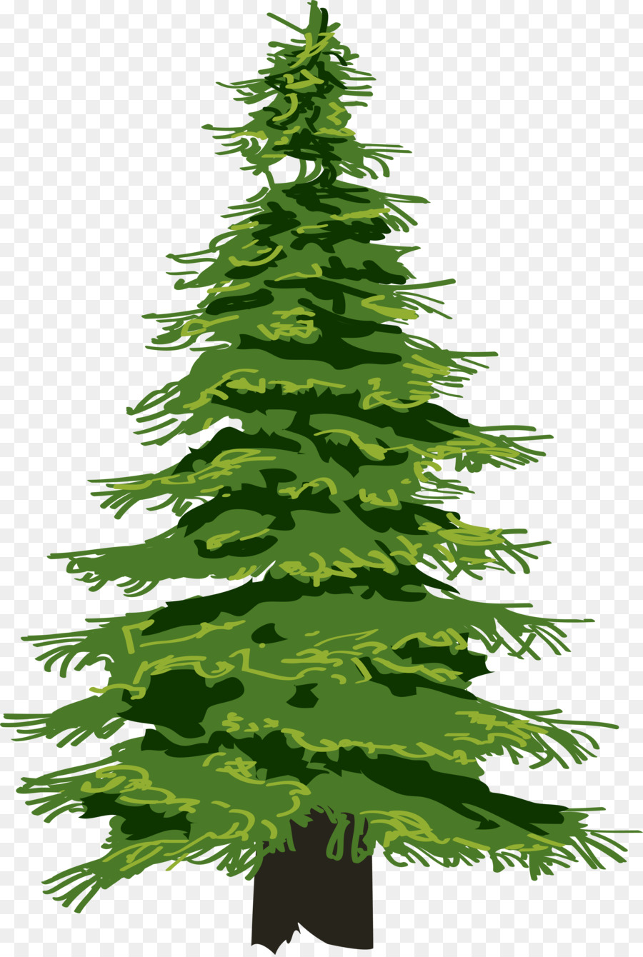 pine tree evergreen clip art christmas tree