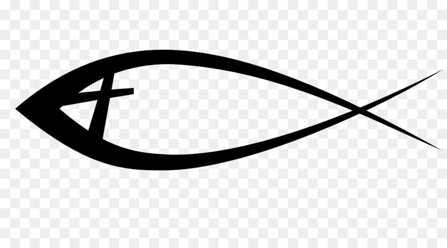 Ichthys Christianity Bible Christian Cross Symbol Fishing Pole Png