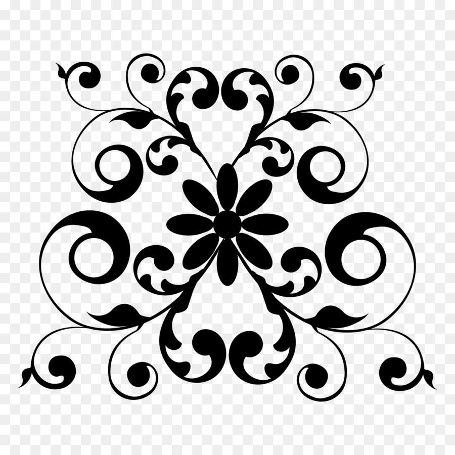 Ceramique Art Nouveau Motif De Fleurs Telechargement Png 1600