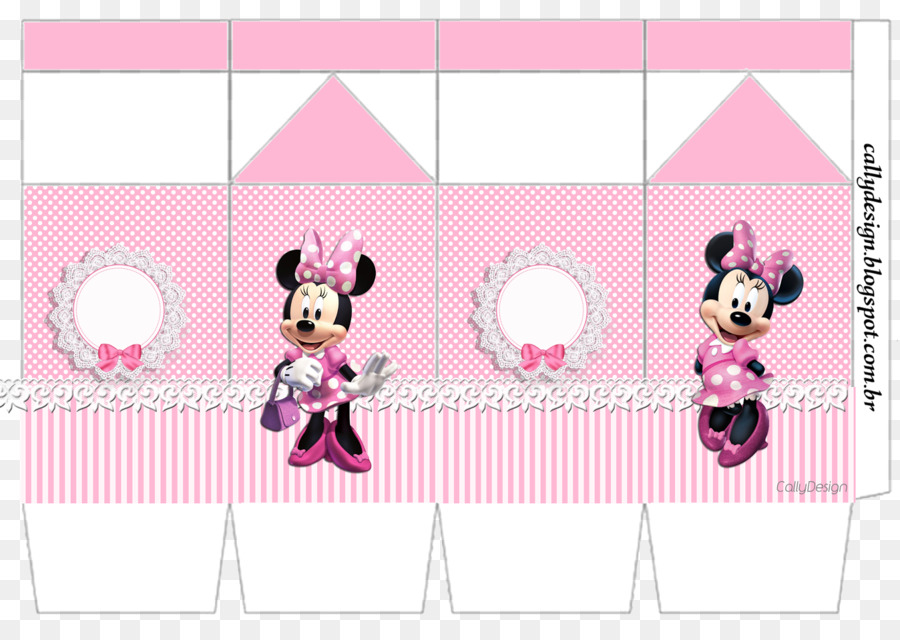 Minnie Mouse Mickey Mouse Dessin Rose Mini Telechargement Png