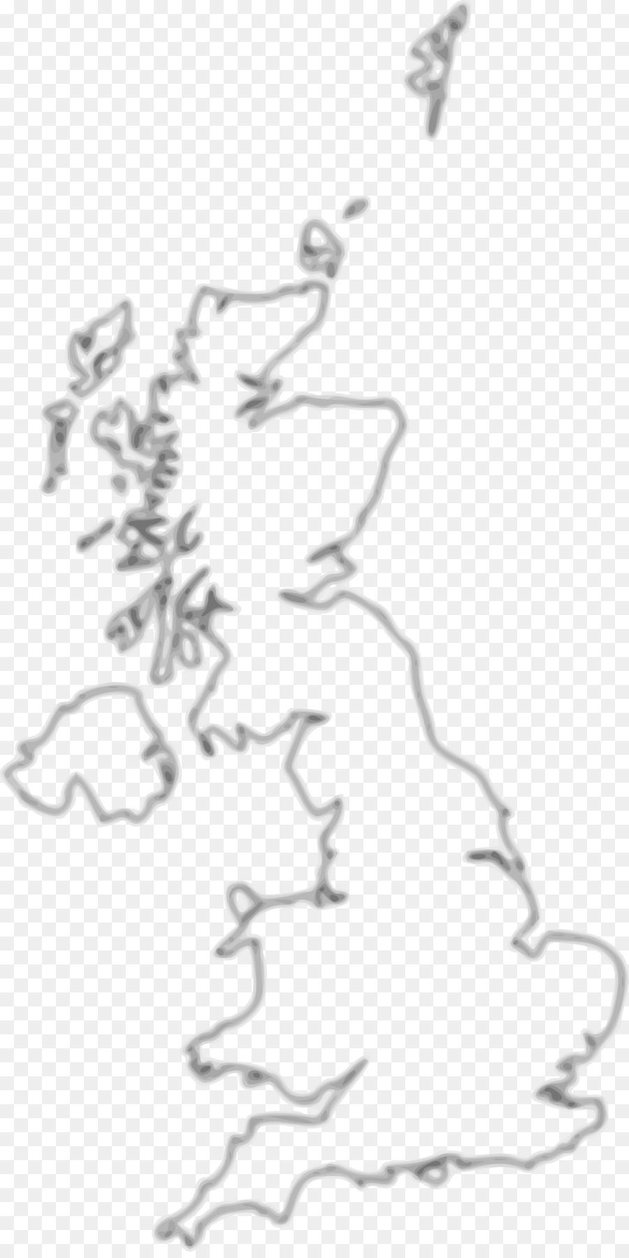 England British Isles Blank map Clip art - united kingdom png ...