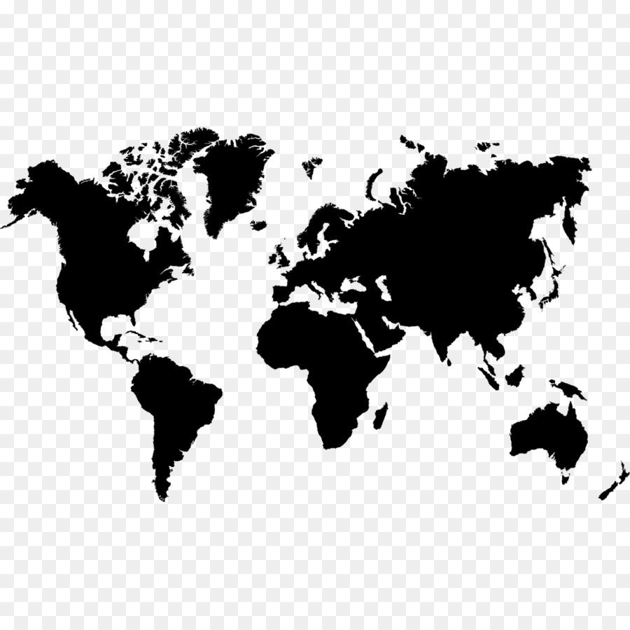 World map Globe - Kuwait png download - 1000*1000 - Free Transparent ...