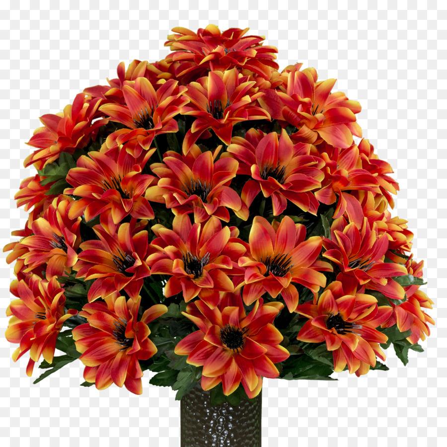 Cut Flowers Chrome Orange Flower Bouquet Peach Flowers Png